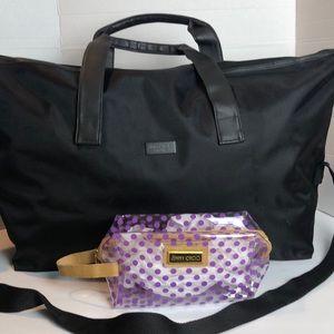 Jimmy Choo Duffle / Cosmetic Bag